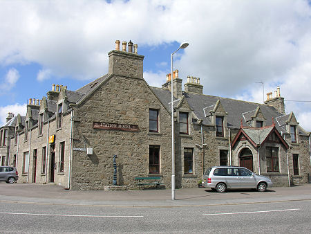 station hotel ellon